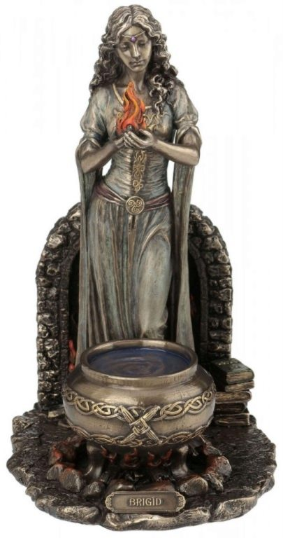 Photo of Brigid Bronze Figurine 25cm Pagan Goddess