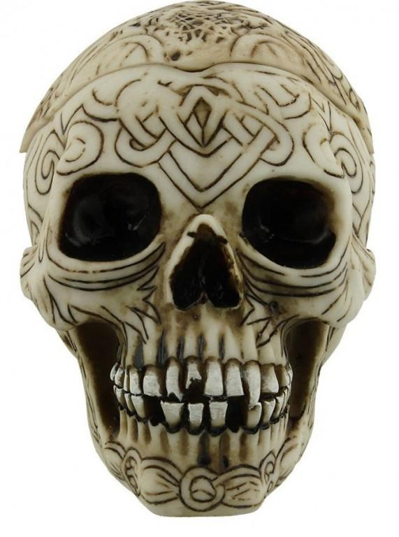 Photo of Celtic Skull Box