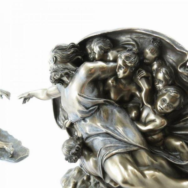 Photo of Creation of Adam Figurine Michelangelo
