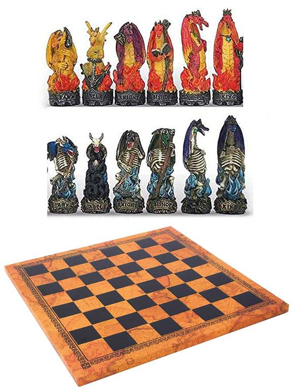 Photo of Dragon Battle Chess Set
