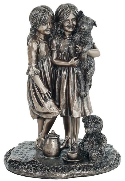 Photo of Friendship Bronze Figurine 21cm