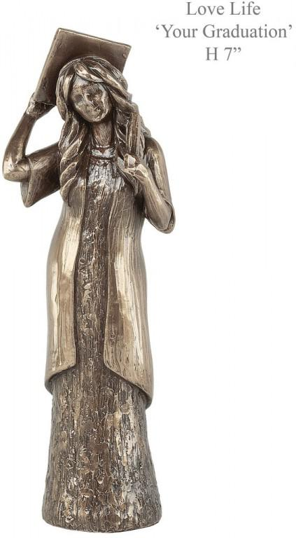 Photo of Graduation Bronze Figurine