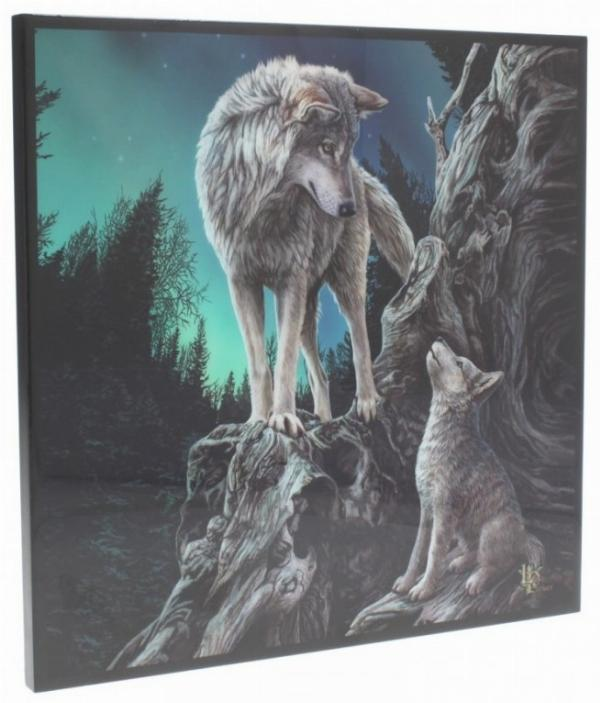 Photo of Guidance Crystal Clear Wolf Picture (Lisa Parker)