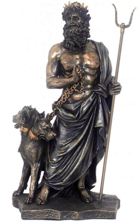 Photo of Hades Greek God of the Underworld Figurine 28cm