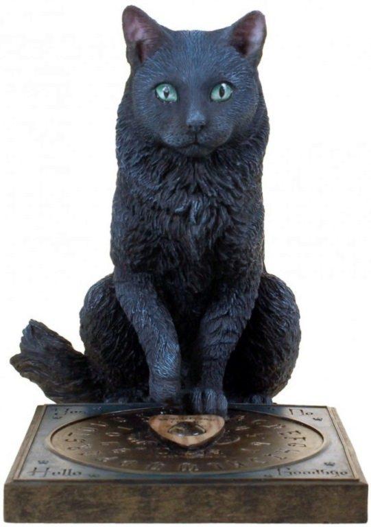 Photo of His Masters Voice Black Cat Figurine (Lisa Parker) 19cm
