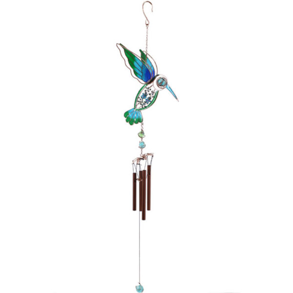 Photo of Humming Bird Wind Chime (Blue and Green)