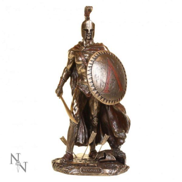 Photo of Leonidas King of Sparta Bronze Figurine 25 cm