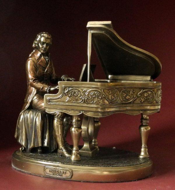 Photo of Mozart Bronze Figurine