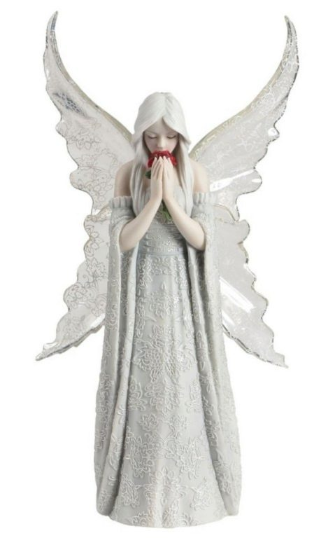 Photo of Only Love Remains Angel Figurine (Anne Stokes)