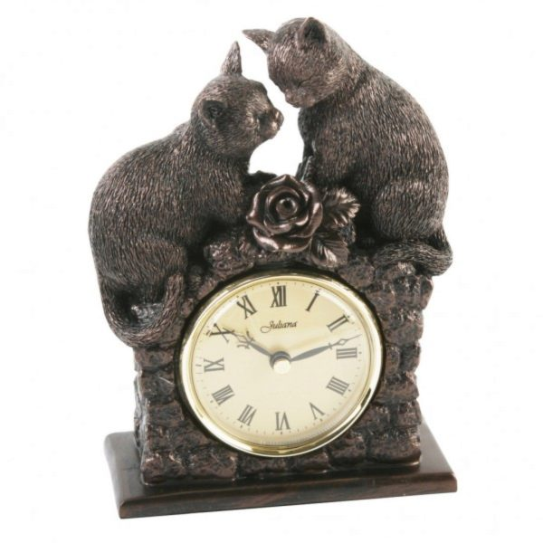 Photo of Pair of Cats Juliana Clock