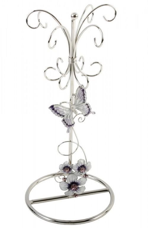 Photo of Purple Butterfly Jewellery Holder