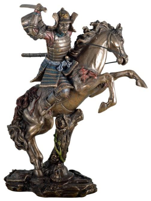 Photo of Samurai Warrior On Horseback Figurine