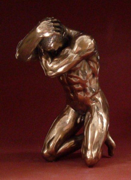 Photo of Stress Bronze Figurine