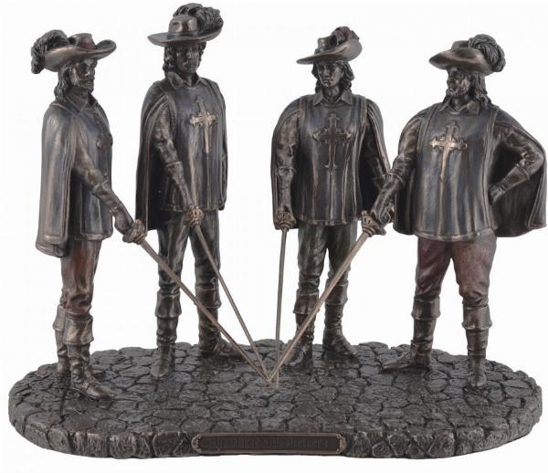 Photo of The Three Musketeers Bronze Figurine