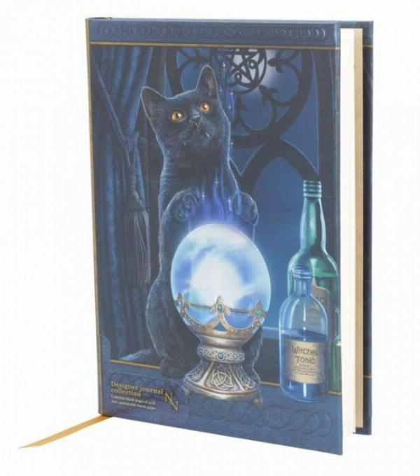 Photo of The Witches Apprentice Embossed Cat Journal 17cm