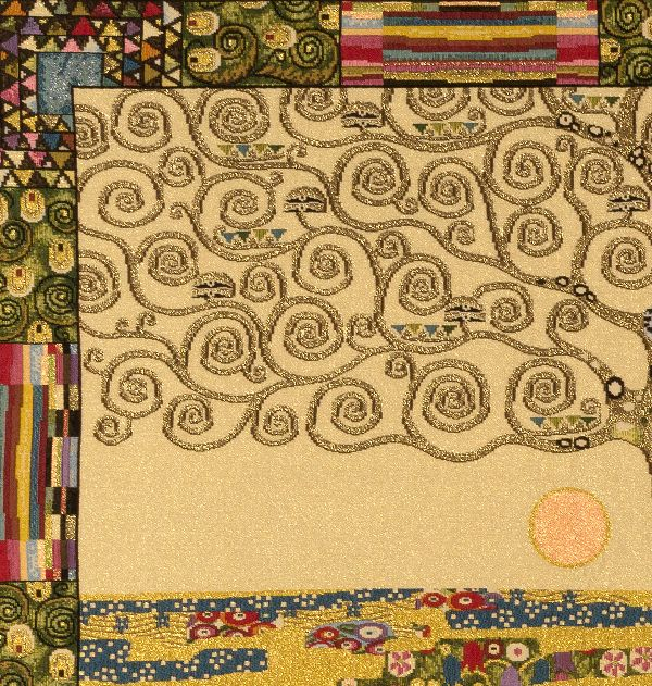 Phot of Tree Of Life By Gustav Klimt Wall Tapestry 1