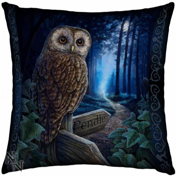 Photo of Way of the Witch Owl Cushion (Lisa Parker)