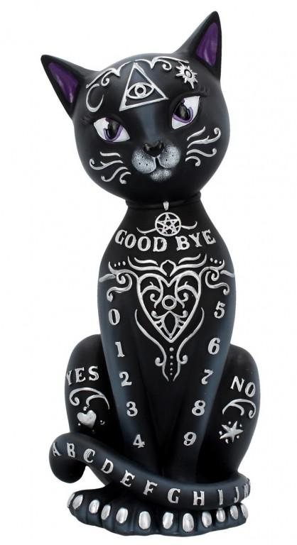 Photo of Witchcraft Cat Figurine 26 cm