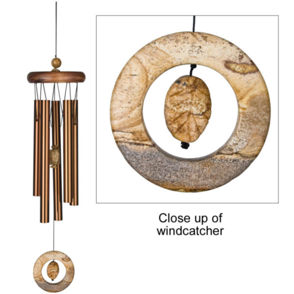 Photo of Woodstock Prairie Jasper Wind Chime (Bronze)