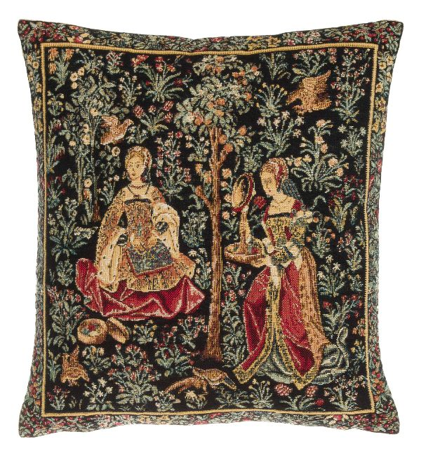 Phot of Broderie Medieval Tapestry Cushion