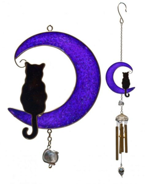 Photo of Cat on the Moon Wind Chime