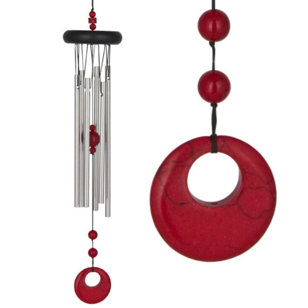 Photo of Chakra Red Coral Wind Chime (Woodstock)