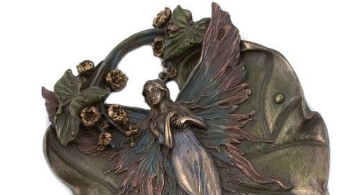 Photo of Fairy Decorative Plate Bronze