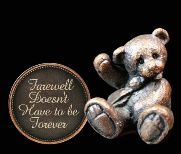Photo of Farewell Doesnt Have to be Forever Penny Bear Michael Simpson