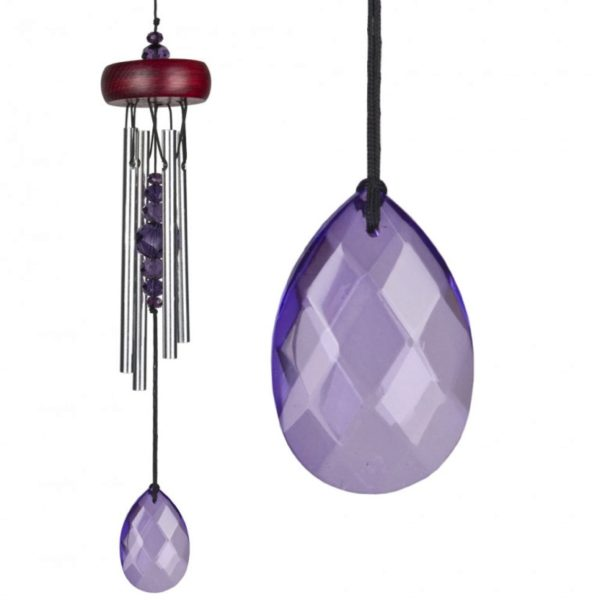 Photo of Gem Drop Chimes Violet Woodstock