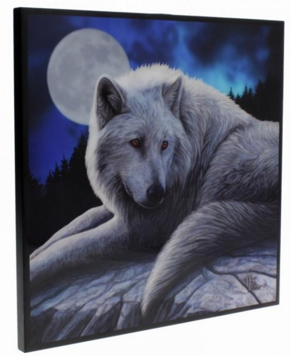 Photo of Guardian of the North Crystal Clear Wolf Picture (Lisa Parker)