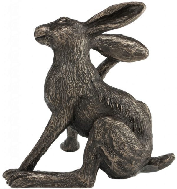 Photo of Hazel Hare Bronze Sculpture (Harriet Glen)