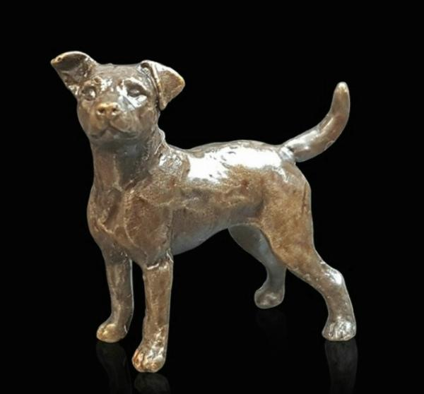 Photo of Jack Russell Bronze Miniature (Butler and Peach)