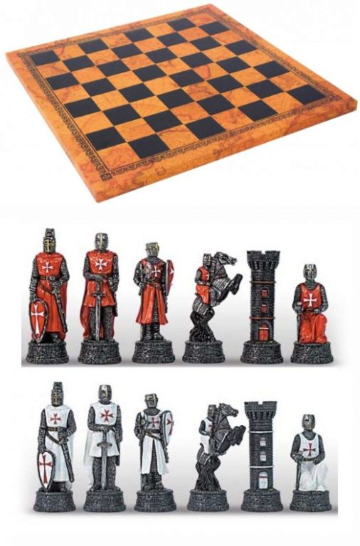 Photo of Knights Chess Set