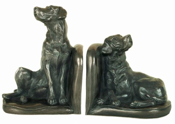 Photo of Labrador Bookend Sculptures