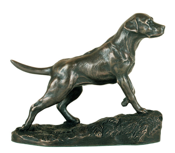 Photo of Labrador Bronze Dog Ornament