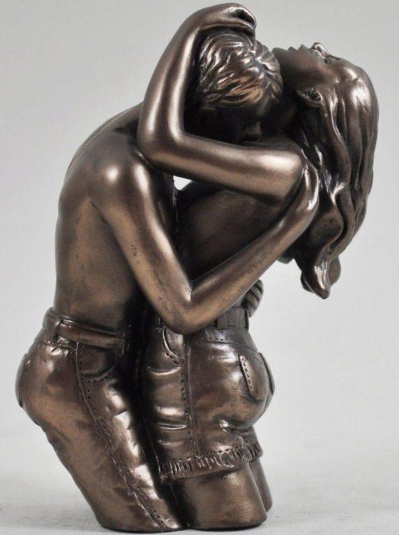 Photo of Loves Pleasure Bronze Figurine (Love is Blue) 10cm Small