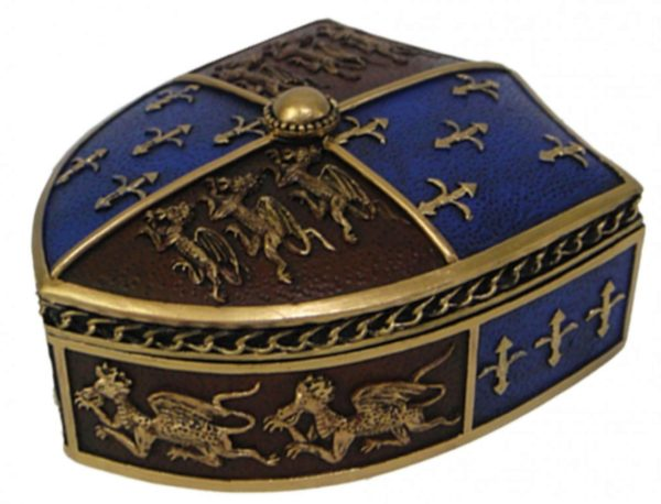 Photo of Medieval Trinket Box 12.5cm