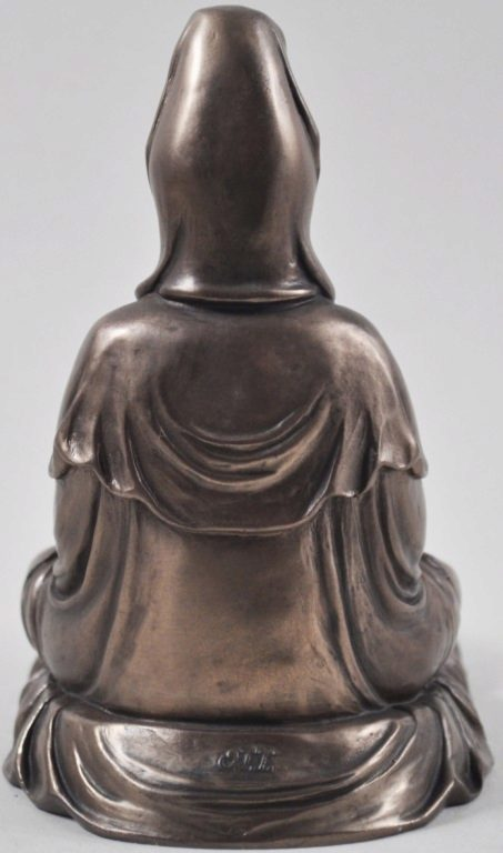 Photo of Meditating Buddha Tealight Holder 13cm