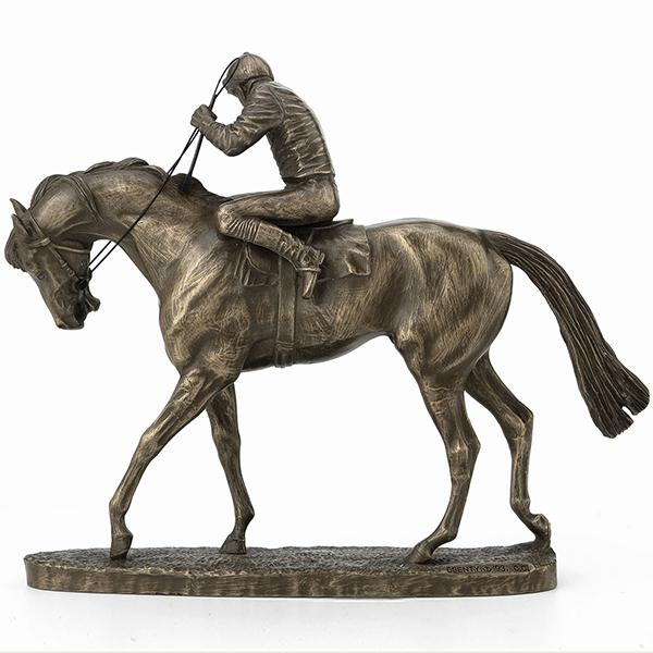 Photo of On Parade Horse Figurine David Geenty