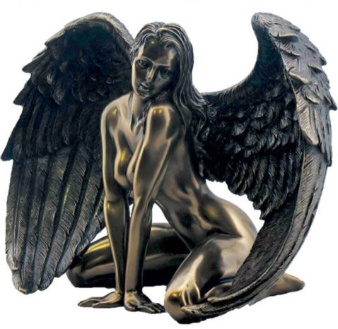 Photo of Passionate Angel Bronze Figurine