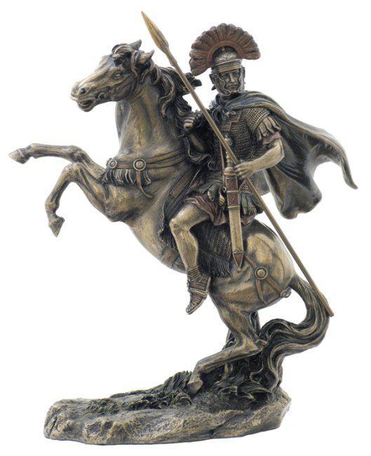 Photo of Roman Centurion Bronze Figurine