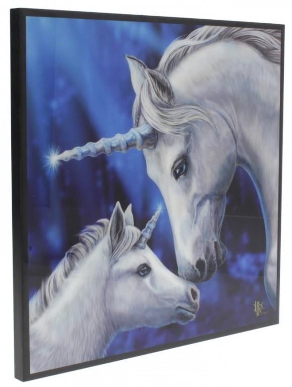Photo of Sacred Love Crystal Clear Unicorn Picture (Lisa Parker)