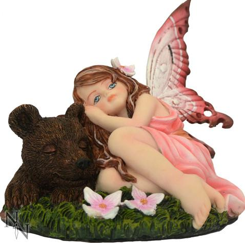 Photo of Sleeping Softly Fairy Figurine 14cm