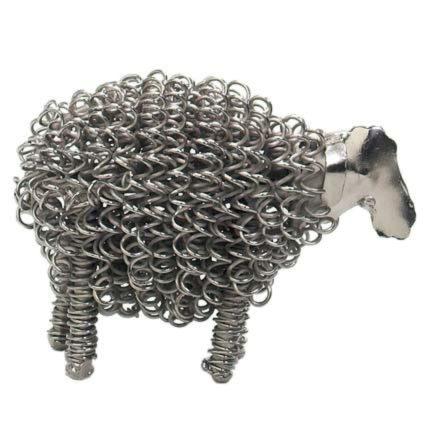 Photo of Wiggle Lamb Metal Sculpture