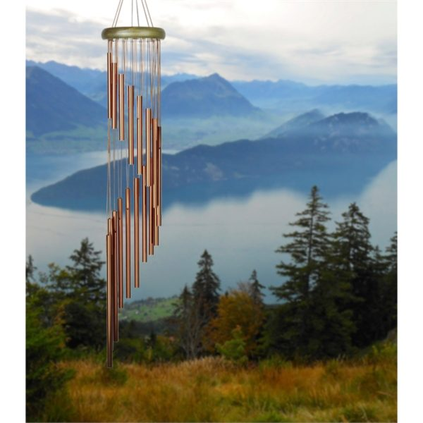 Photo of Woodstock Habitats Rainfall - Green Wind Chime