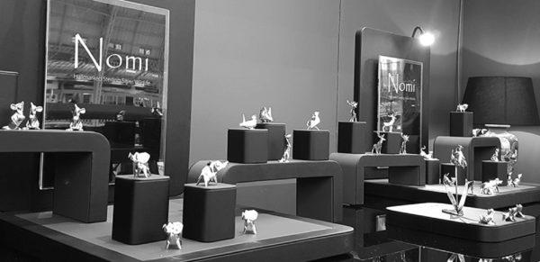 Photo of Wren Hallmarked Sterling Silver Miniature NOMI Design