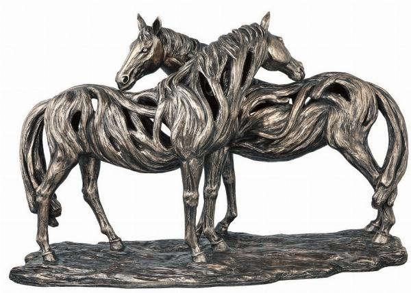 Photo of Alliance Contemporary Bronze Horse Figurine Large 56cm
