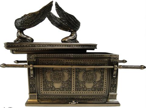 Photo of Ark of the Covenant Bronze Box Figurine