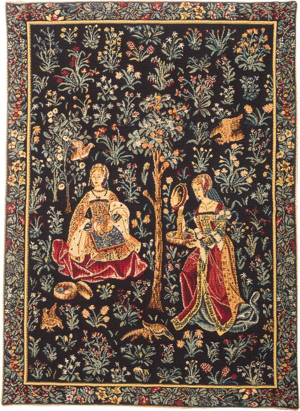 Phot of Broderie Medieval Wall Tapestry