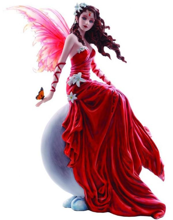 Photo of Crimsonlily by Nene Thomas Fairy Figurine